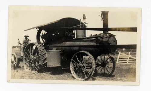 Men with steam tractor, Butler County, Kansas - Page