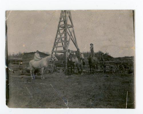 Farm children on horseback, Butler County, Kansas - Page