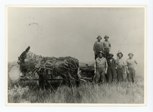 First roustabout gang on Stapleton lease, Butler County, Kansas - Page