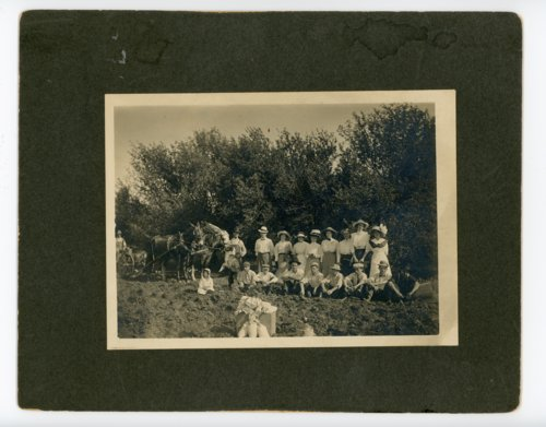 Agriculture class at the Johnson farm, Butler County, Kansas - Page