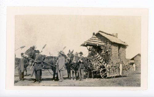 Lincoln Township float, Kaffir Corn Carnival, El Dorado, Kansas - Page
