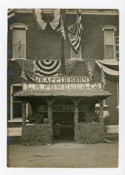 L.H. Powell & Company booth, Kaffir Corn Carnival, El Dorado, Kansas - Page