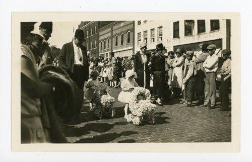 Baby Parade at the Kaffir Corn Carnival, El Dorado, Kansas - Page