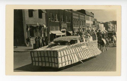 Job's Daughters float, Kaffir Corn Carnival, El Dorado, Butler County, Kansas - Page