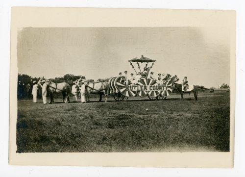 Kaffir Corn Queen float, El Dorado, Butler County, Kansas - Page