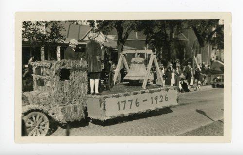 Butler County School float,  Kaffir Corn Carnival Parade, El Dorado, Butler County, Kansas - Page