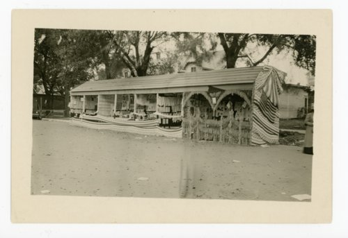 Butler County Schools Booth,  Kaffir Corn Carnival, El Dorado, Kansas - Page