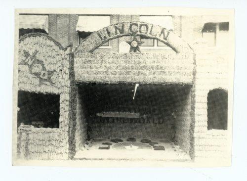 Lincoln Township Booth, Kaffir Corn Carnival, El Dorado, Kansas - Page