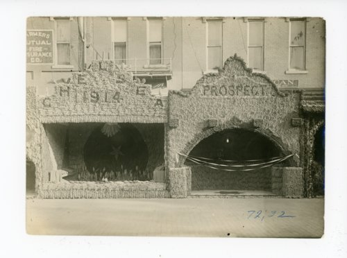 Chelsea and Prospect Township Booths, Kaffir Corn Carnival, El Dorado, Kansas - Page