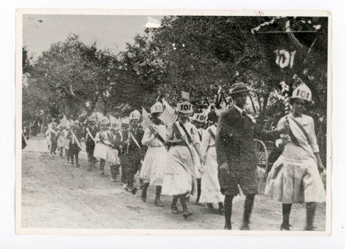 School District 101 Marchers, Kaffir Corn Carnival Parade, El Dorado, Kansas - Page