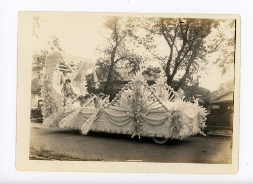 Women in Float, Kaffir Corn Carnival, El Dorado, Kansas - Page