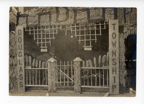 Douglass township booth at the Kaffir Corn Carnival in El Dorado, Kansas - 07 - Page