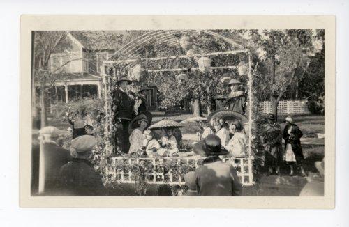 Japan-themed school float, Kaffir Corn Carnival Parade, El Dorado, Butler County, Kansas - 02 - Page