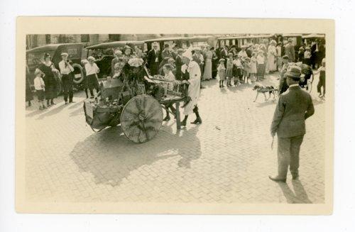 Pushcart Float, Kaffir Corn Carnival Parade, El Dorado, Kansas - Page