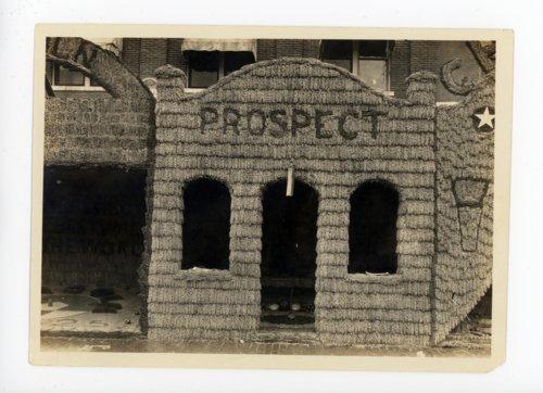 Prospect township booth, Kaffir Corn Carnival, El Dorado, Butler County, Kansas - 02 - Page