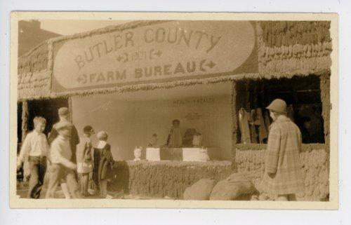 Butler County Farm Bureau booth, Kaffir Corn Carnival, El Dorado, Butler County, Kansas - Page