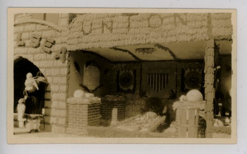 Union township booth, Kaffir Corn Carnival, El Dorado, Butler County, Kansas - Page