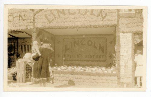 Lincoln Township booth, Kaffir Corn Carnival, El Dorado, Butler County, Kansas - Page