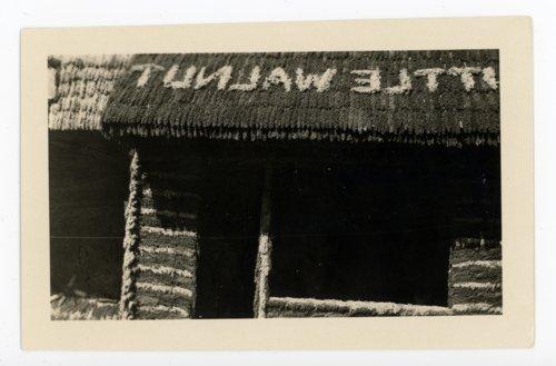 Little Walnut Township booth, Kaffir Corn Carnival, El Dorado, Butler County, Kansas - Page