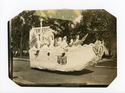 Children's float, Kaffir Corn Carnival Parade, El Dorado, Kansas - Page