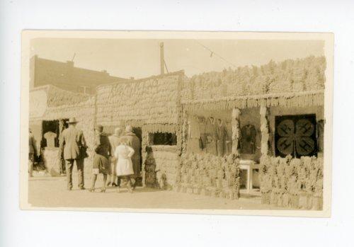 Kaffir Corn display booths, El Dorado, Butler County, Kansas - Page