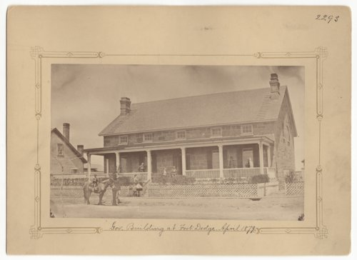 Commanding Officers' Quarters, Fort Dodge, Kansas - Page