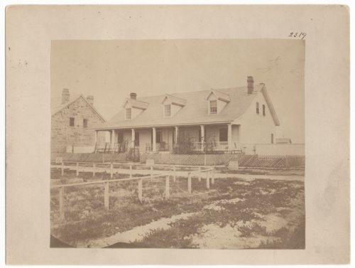 Quartermasters' Quarters, Fort Dodge, Kansas - Page