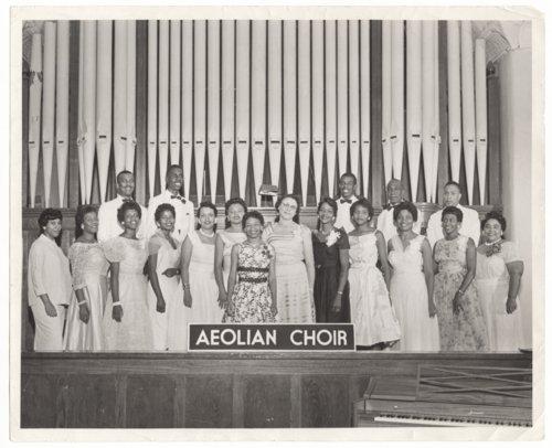Aeolian Choir, St. John African Methodist Episcopal Church, Topeka, Kansas - Page