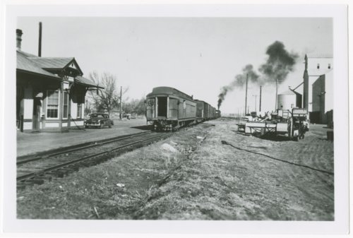 Atchison, Topeka and Santa Fe Railway Company depot, Cheney, Kansas - Page