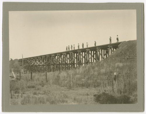 Atchison, Topeka & Santa Fe Railway Company bridge, Cheney, Kansas - Page