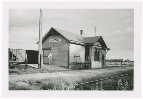 Union Pacific Railroad Company depot, Milford, Kansas - Page