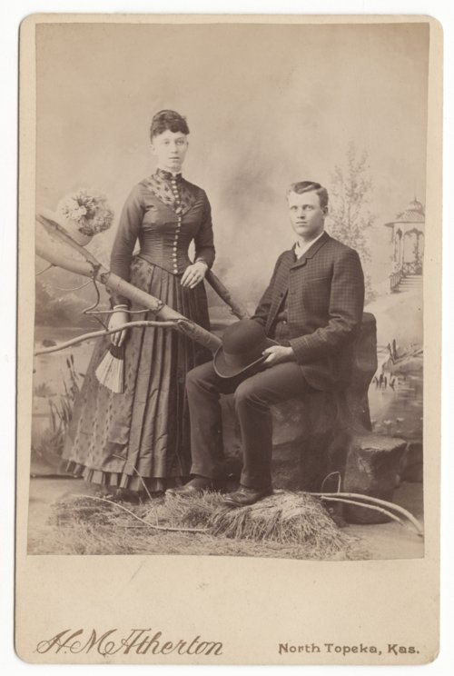 Lucy M. and George P. Whiteker, Topeka, Kansas - Page