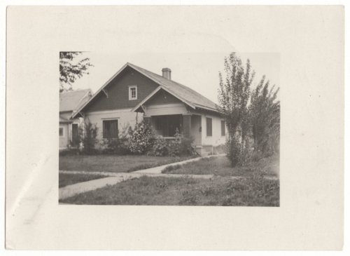 Home of Esther Clark Hill, Chanute, Neosho County, Kansas - Page