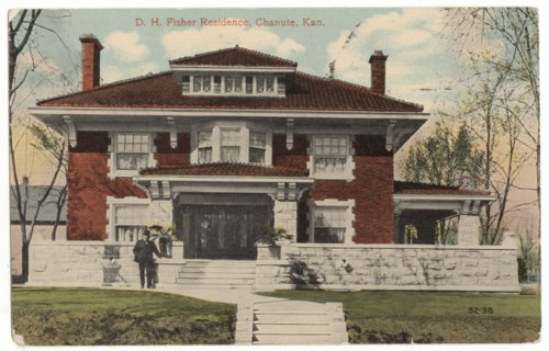 D. H. Fisher residence, Chanute, Neosho County, Kansas - Page