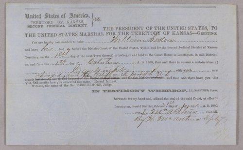 United States versus William T. Sodon for contempt - Page