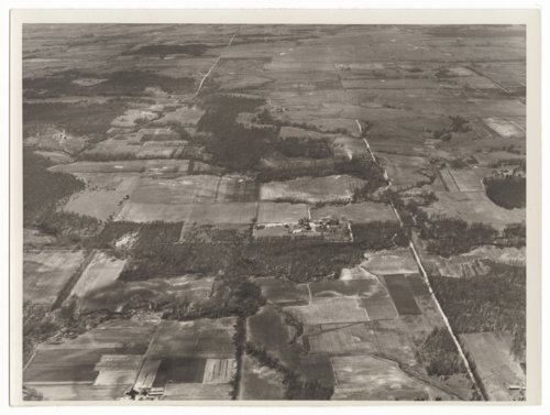 Aerial photos of southwest Neosho County, Kansas, in the Thayer Lake area - Page