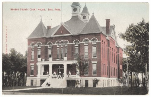 Neosho County Court House, Erie, Kansas - Page