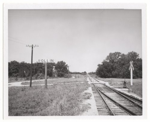 Atchison, Topeka and Santa Fe Railroad Company crossing, Rollin, Kansas - Page