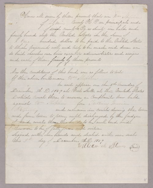 United States versus William Stevens for taking Indian property - Page