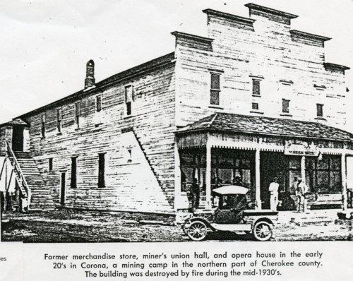 Carona mining camp, Cherokee County, Kansas - Page