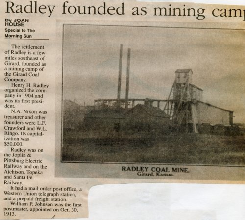 Radley, Kansas - Page