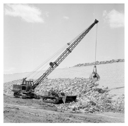 Cedar Bluff dam in Trego County, Kansas - Page