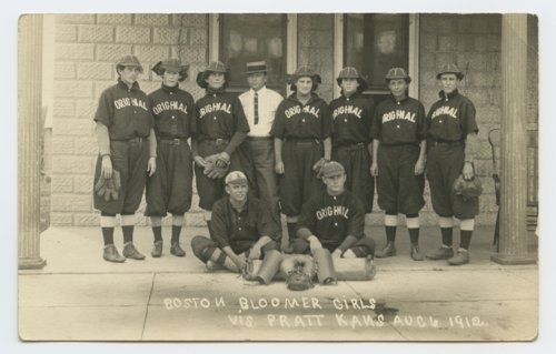 Boston Bloomer Girls baseball team - Page