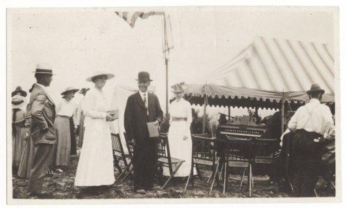 Dedication of monument at Shawnee Methodist Mission, Turner, Kansas - Page