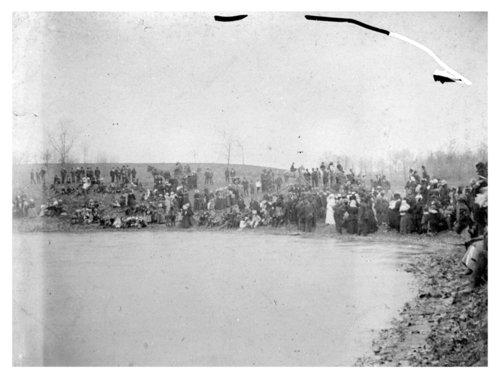 African American baptism, Edwardsville, Kansas - Page