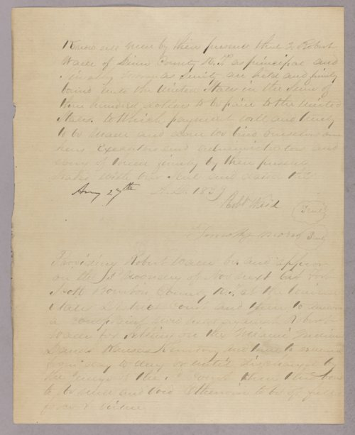 United States versus Robert Weid for settling on Indian land - Page