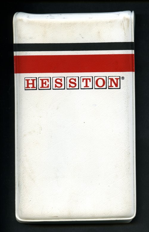 Hesston sales booklet - Page