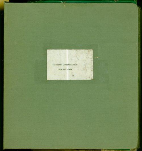 Hesston Corporation scrapbook - Page