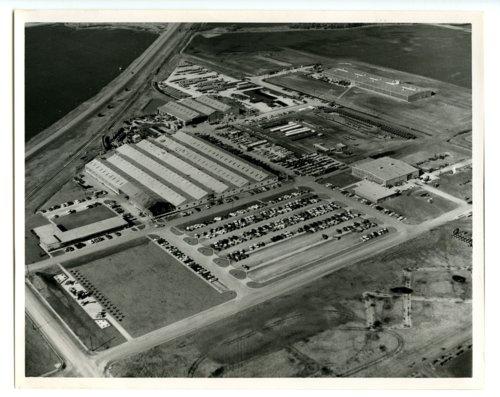 Aerial view of Hesston Corporation, Hesston, Kansas - Page