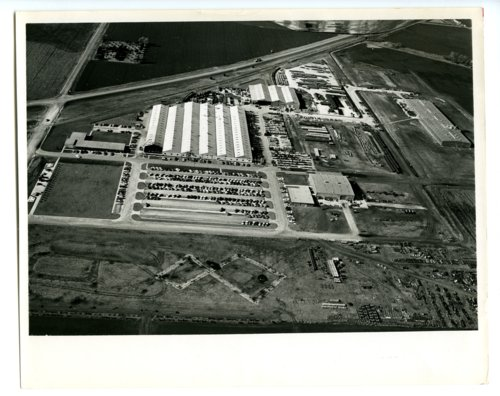 Aerial view of Hesston Corporation, Hesston, Kansas - Page